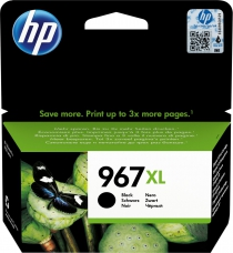 HP 967 EXTRA XL BLACK INK (3000PG)