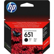 HP 651 BLK INK