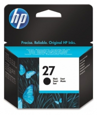HP 27 BLK INK