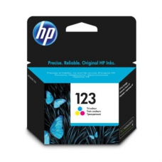 HP 123 STD CLR INK